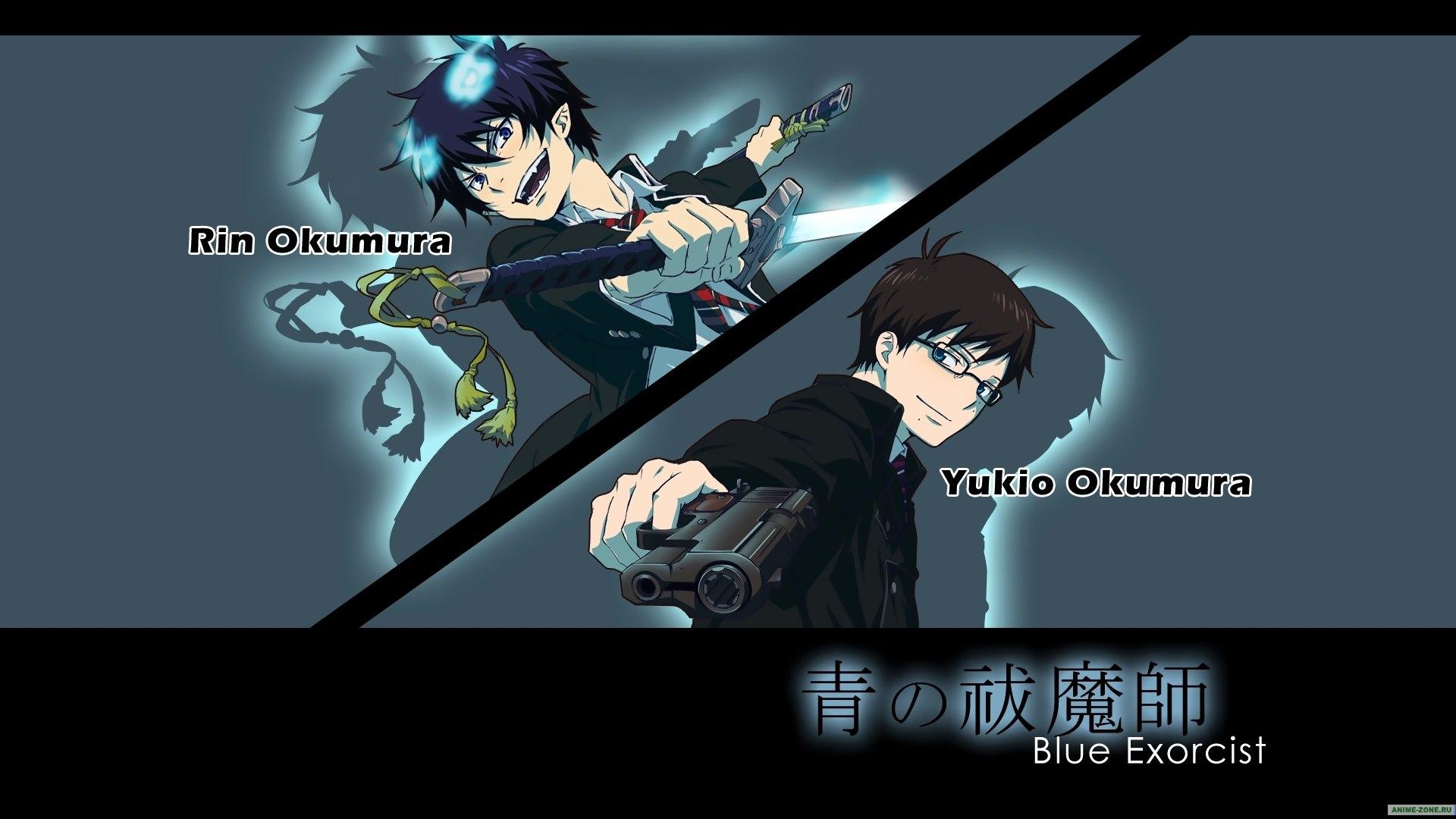 blue exorcist wallpaper